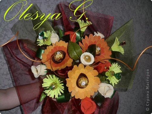 Здравствуй Страна!!! Представляю вашему вниманию коллекцию своих сладких букетов. фото 4