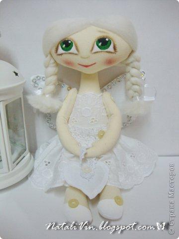 Доброе время суток, дорогие жители и гости)))) Ну вы уже догадались, что увлеклась я куклехами...вот очередные девочки...без имен, потому что в подарок))) фото 2