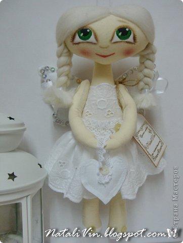 Доброе время суток, дорогие жители и гости)))) Ну вы уже догадались, что увлеклась я куклехами...вот очередные девочки...без имен, потому что в подарок))) фото 5