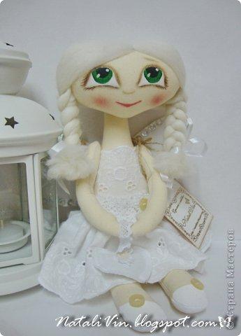 Доброе время суток, дорогие жители и гости)))) Ну вы уже догадались, что увлеклась я куклехами...вот очередные девочки...без имен, потому что в подарок))) фото 6