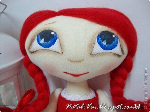 Доброе время суток, дорогие жители и гости)))) Ну вы уже догадались, что увлеклась я куклехами...вот очередные девочки...без имен, потому что в подарок))) фото 8