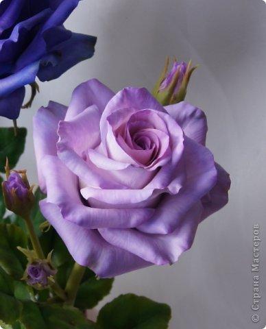 Вот такое розовое настроение у меня было... и вот что из этого получилось. Все цветы слеплены из готовых полимерных глин(холодный фарфор) modern clay, luna clay, Thai clay. фото 22