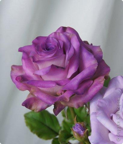 Вот такое розовое настроение у меня было... и вот что из этого получилось. Все цветы слеплены из готовых полимерных глин(холодный фарфор) modern clay, luna clay, Thai clay. фото 23
