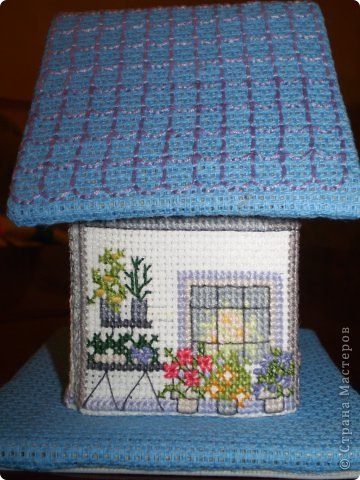 Здравствуйте! Покажу вам два домика, сделанных в подарок хорошим людям. Домик №1 - Для подруги с пожеланиями приобрести квартиру (кстати, на момент, когда я делаю эту запись, подруга квартиру уже имеет) фото 11