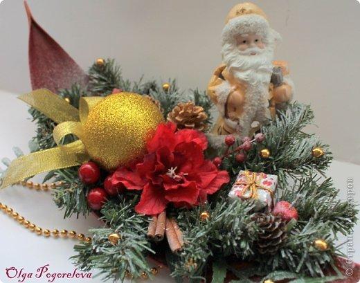 Бонсай топиарий Декор предметов Поделка изделие Рождество Декупаж Моделирование Новогодние подарки фото 8