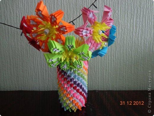 Хочу представить вам на суд свои несколько работ в технике модульного оригами фото 5