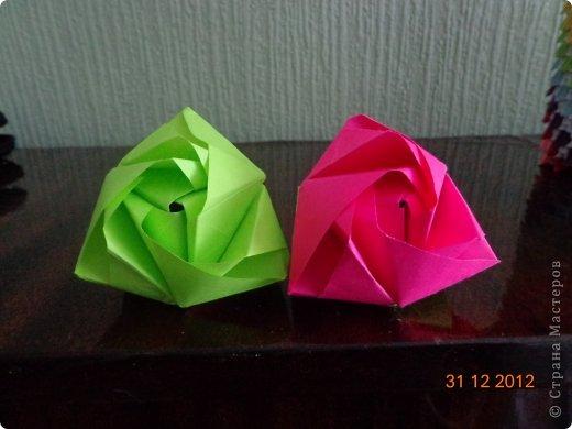 Хочу представить вам на суд свои несколько работ в технике модульного оригами фото 9