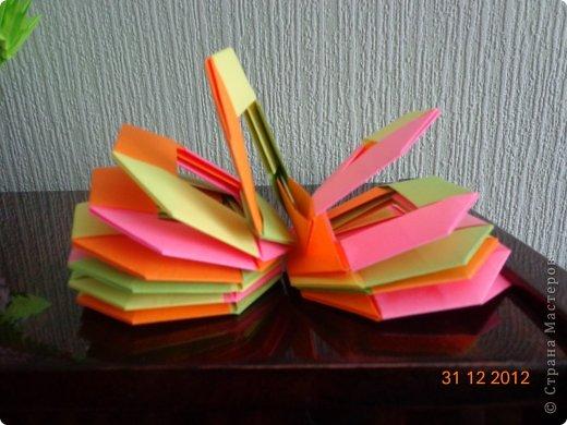 Хочу представить вам на суд свои несколько работ в технике модульного оригами фото 11