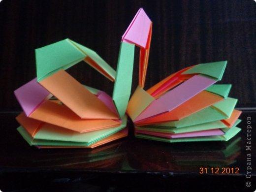 Хочу представить вам на суд свои несколько работ в технике модульного оригами фото 12