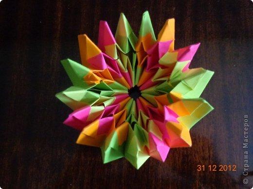 Хочу представить вам на суд свои несколько работ в технике модульного оригами фото 15