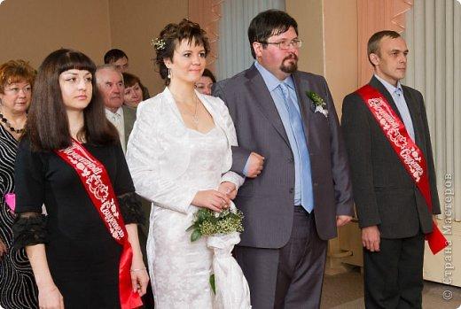 Свадебный букет зонт с гипсофилой фото 5