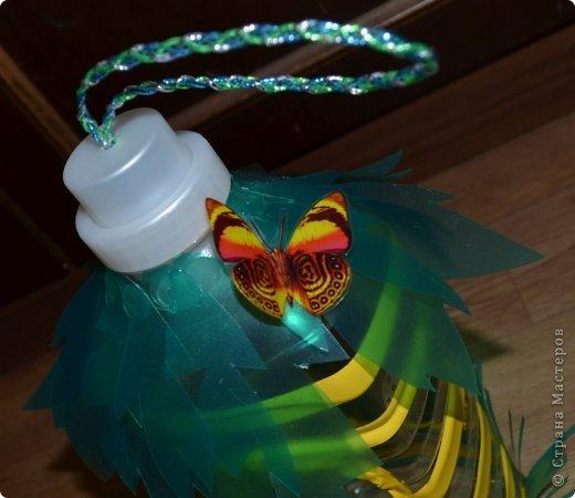 Как сделать красивых птиц из пластиковых бутылок