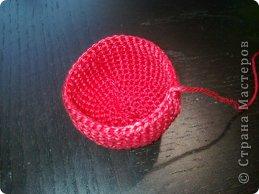 Мастер-класс Валентинов день Вязание крючком к дню Святого Валентина Нитки фото 4