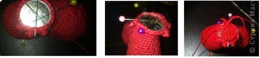Мастер-класс Валентинов день Вязание крючком к дню Святого Валентина Нитки фото 10