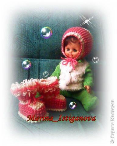 Гардероб Вязание спицами Очаровательной малышке Пряжа фото 1
