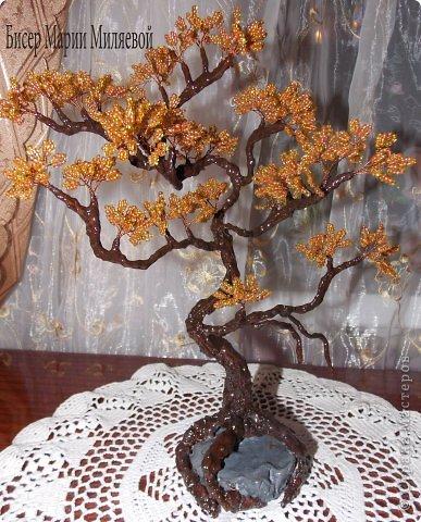 Поделка изделие Бисероплетение Деревья из бисера Бисер фото 6.