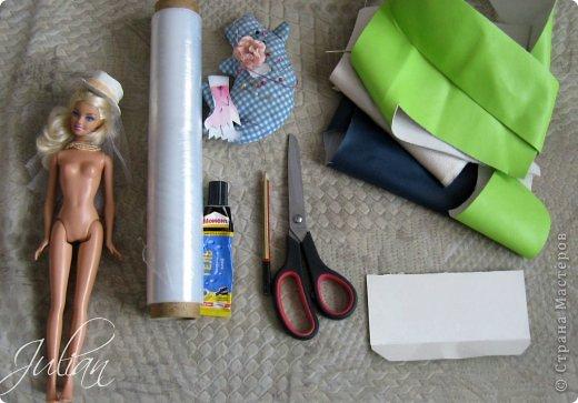 Как сделать для кукол туфли без клея
