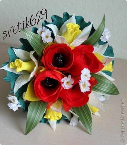 Весенний праздник наступил Дорогие мастерицы поздравляю Вас с этим чудесным праздником весны. Желаю Вам всегда оставаться красивыми ,нежными и прекрасными . Счастья ,любви и море новых идей ,а также всего самого хорошего чего только можно пожелать!!!! фото 9
