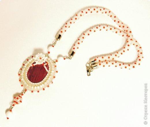 Это сделано в подарок подруге, ей понравилось, носит....что меня очень радует :) Бирюза, японский бисер, бусины - имитация бирюзы и жемчуга фото 3