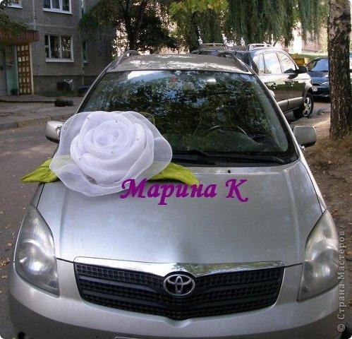 Сшить украшение для свадебной машины