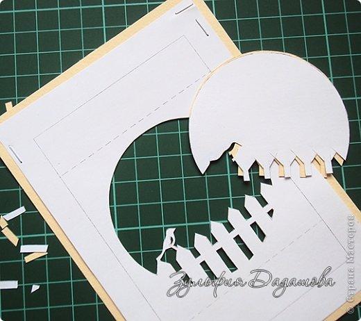 Бумажный туннель Вырезание