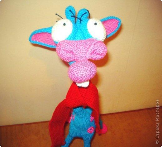 Игрушка Вязание крючком Жираф