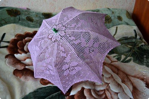 Летний зонтик от солнца фото 2