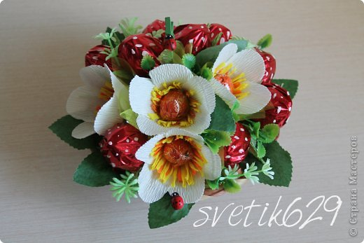Цветы мелкие крючком схемы и описание