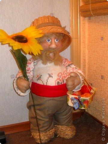 Фигуры-куклы для сада  мастер-класс