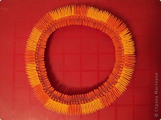 Мастер-класс Поделка изделие Оригами китайское модульное МК Апельсиновые фантазии Бумага фото 5