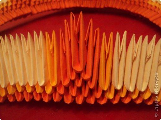 Мастер-класс Поделка изделие Оригами китайское модульное МК Апельсиновые фантазии Бумага фото 7
