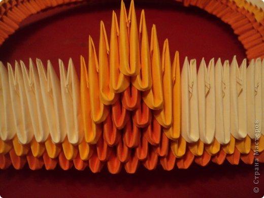 Мастер-класс Поделка изделие Оригами китайское модульное МК Апельсиновые фантазии Бумага фото 8