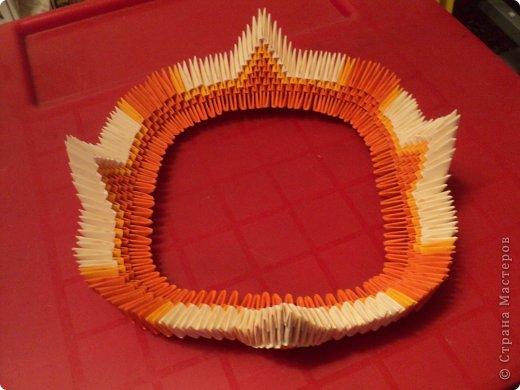 Мастер-класс Поделка изделие Оригами китайское модульное МК Апельсиновые фантазии Бумага фото 10