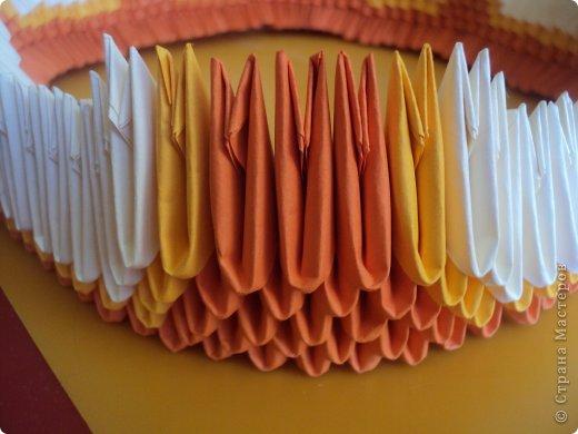 Мастер-класс Поделка изделие Оригами китайское модульное МК Апельсиновые фантазии Бумага фото 12