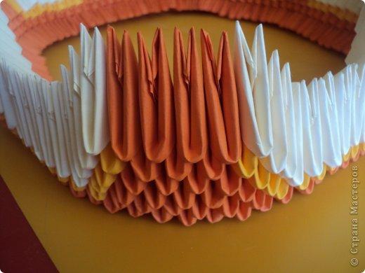 Мастер-класс Поделка изделие Оригами китайское модульное МК Апельсиновые фантазии Бумага фото 13