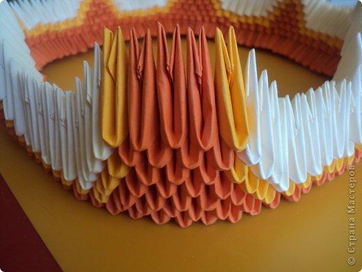 Мастер-класс Поделка изделие Оригами китайское модульное МК Апельсиновые фантазии Бумага фото 14
