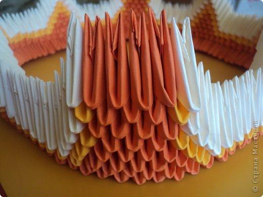 Мастер-класс Поделка изделие Оригами китайское модульное МК Апельсиновые фантазии Бумага фото 15