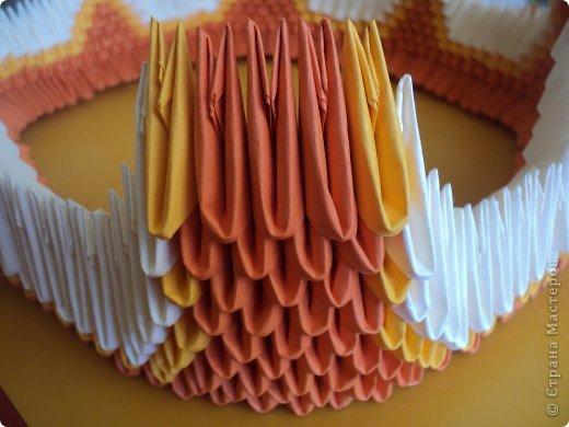 Мастер-класс Поделка изделие Оригами китайское модульное МК Апельсиновые фантазии Бумага фото 16