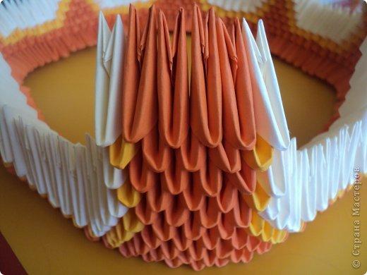 Мастер-класс Поделка изделие Оригами китайское модульное МК Апельсиновые фантазии Бумага фото 17