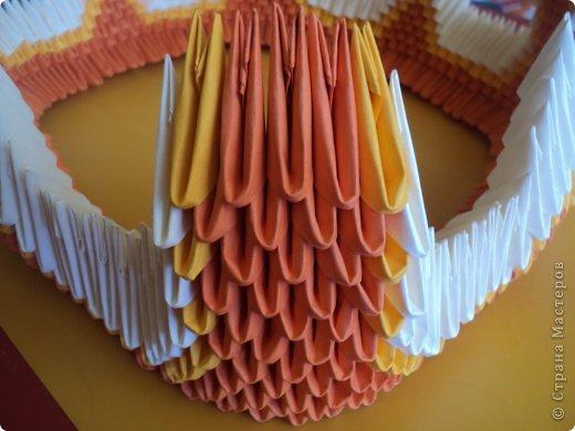 Мастер-класс Поделка изделие Оригами китайское модульное МК Апельсиновые фантазии Бумага фото 18