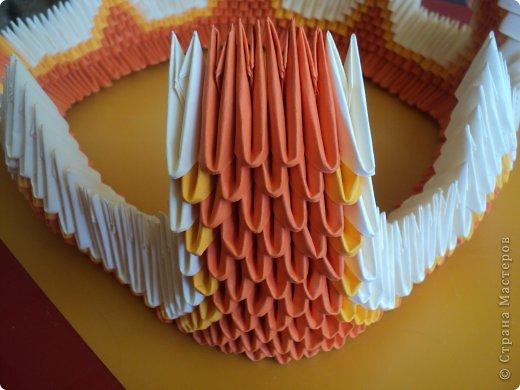 Мастер-класс Поделка изделие Оригами китайское модульное МК Апельсиновые фантазии Бумага фото 19