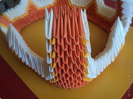 Мастер-класс Поделка изделие Оригами китайское модульное МК Апельсиновые фантазии Бумага фото 21