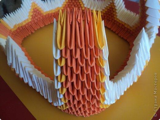 Мастер-класс Поделка изделие Оригами китайское модульное МК Апельсиновые фантазии Бумага фото 22