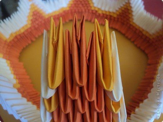 Мастер-класс Поделка изделие Оригами китайское модульное МК Апельсиновые фантазии Бумага фото 24