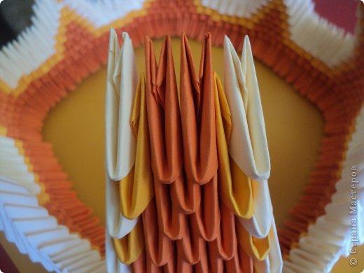 Мастер-класс Поделка изделие Оригами китайское модульное МК Апельсиновые фантазии Бумага фото 25
