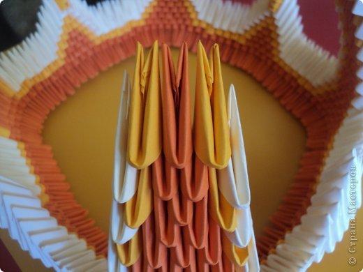 Мастер-класс Поделка изделие Оригами китайское модульное МК Апельсиновые фантазии Бумага фото 26