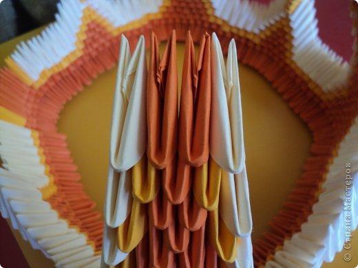 Мастер-класс Поделка изделие Оригами китайское модульное МК Апельсиновые фантазии Бумага фото 27