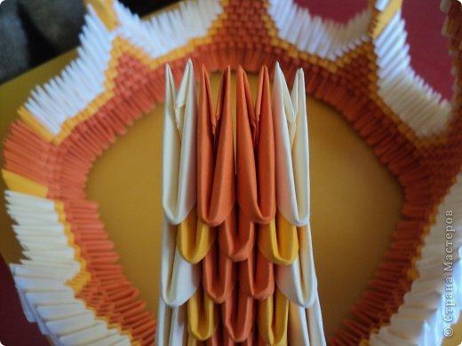 Мастер-класс Поделка изделие Оригами китайское модульное МК Апельсиновые фантазии Бумага фото 29