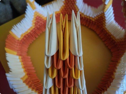 Мастер-класс Поделка изделие Оригами китайское модульное МК Апельсиновые фантазии Бумага фото 30