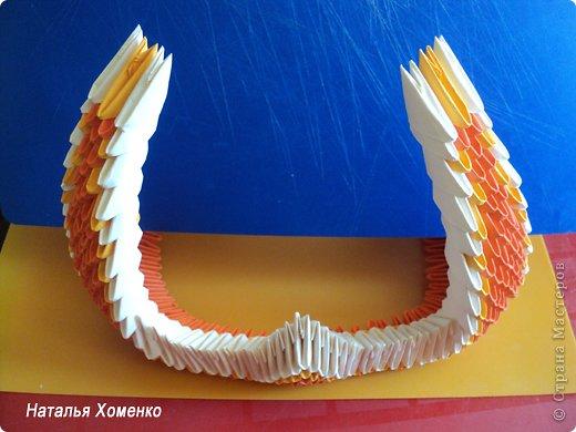 Мастер-класс Поделка изделие Оригами китайское модульное МК Апельсиновые фантазии Бумага фото 31